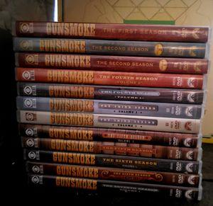 Gunsmoke dvd series, Season 1 through Season 7 (vol. 1) Tarantino's Rick Dalton! for Sale in Fort Lauderdale, FL
