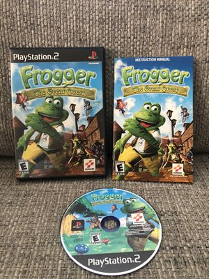 Frogger: The Great Quest (Sony PlayStation 2, 2001) PS2 CIB - Complete MINT DISC for Sale in Fresno, CA