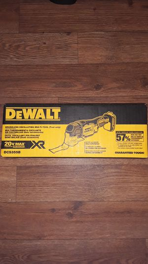 ×2 DEWALT BRUSHLESS OSCILLATING MULTI-TOOL 20V MAX XR for Sale in Glendale, AZ