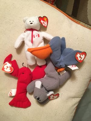 McDonald's teenie beanie babies collection for Sale in Media, PA