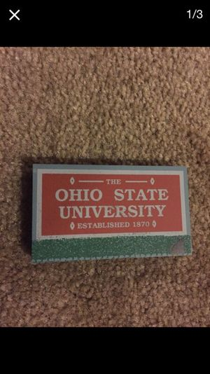 Cat's Meow small OSU Campus Entrance sign 1998 for Sale in Sunbury, OH