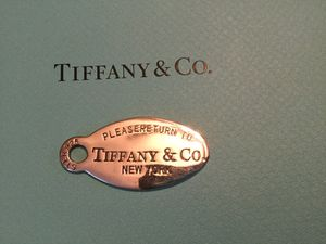 Tiffany and Co Retired Charm 100% Solid Sterling Silver Asking $145.00 or Best Offer. for Sale in Clovis, CA