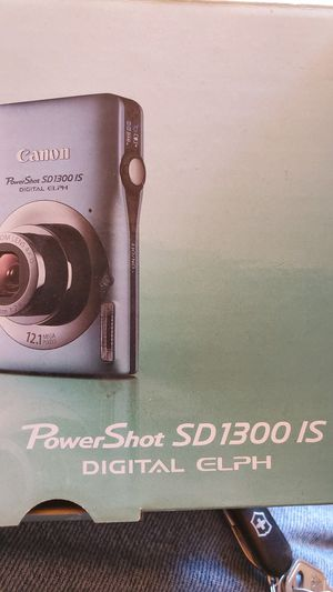 Canon Powershot accessories for Sale in San Diego, CA