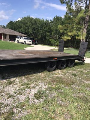 Heavy Duty 3 axel Trailer for buggy or recreational vehicles for Sale in West Palm Beach, FL
