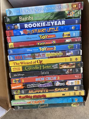 Various DVDs for Sale in Aliso Viejo, CA