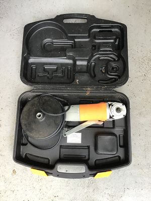 """Chicago Electric Power Tools 7"""" Polisher/Sanders with Digital Display and Hard case. for Sale in Orlando, FL"""