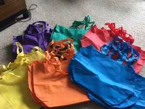 24 bright color tote bags for Sale in Miramar, FL