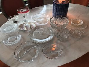 Depression glass dish assortment - collectible for Sale in Kirkland, WA