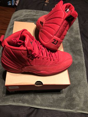Air Jordan Retro 12 Gym Red Size 9 for Sale in Los Angeles, CA