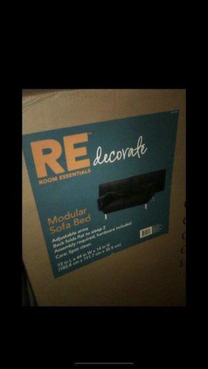 Black futon for Sale in Ontario, CA