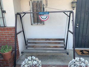 Swinging porch swing for Sale in Colton, CA