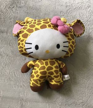 Hello kitty giraffe Plushie for Sale in Anaheim, CA