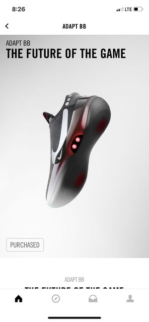 Nike Adapt BB dark grey size 9 DS for Sale in Hercules, CA