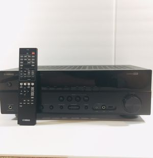 AV Receiver, Stereo, Yamaha RX-V375 w/ Remote, Home Audio Amplifier, Tested and Working. for Sale in Dunwoody, GA