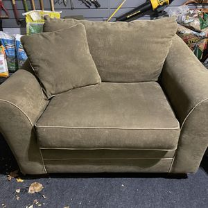 Green Microfiber Oversized Chair for Sale in Naperville, IL