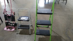 New ladders $30 for both new for Sale in Dallas, TX