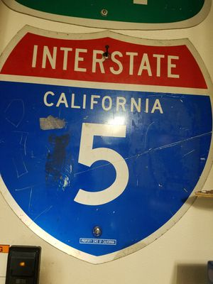 Interstate 5 California sign. 24x24 for Sale in Murrieta, CA