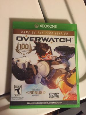 Xbox One over watch opened but never used for Sale in Harrisburg, NC