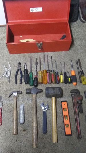 Hand tools, metal tool box ,,even a couple vintage worth what im asking for everything great deal!!! for Sale in Eugene, OR