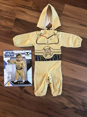 Star Wars C3PO costume (size 1-2yo) for Sale for sale  Torrance, CA