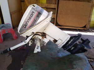 Johnson 15 HP 2 stroke outboard for Sale in Lake Elsinore, CA