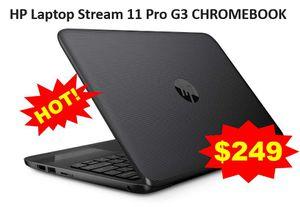 HP Laptop Stream 11 Pro G3 CHROMEBOOK for Sale in Hurst, TX