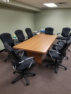 LIKE NEW HIGH END OFFICE FURNITURE -DESKS,CHAIRS,TABLES,FILE CABINETS, AND MORE - SUPER CHEAP!! MUST SELL BY 9-21-18 for Sale in Goodlettsville, TN