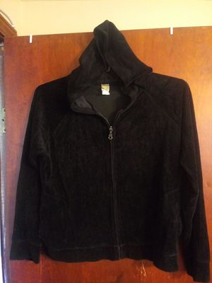 Black valore Hoodie Jacket size Large for Sale in Avon Lake, OH