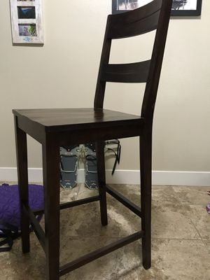 Pier1 Solid Wooden Chair for Sale in Midvale, UT