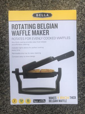 New, sealed in box Rotating waffle iron for Sale in Carbonado, WA