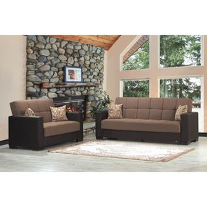 Sofa and Loveseat Sit, Store and Sleep furniture for Sale in Dearborn, MI