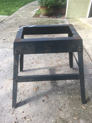 Saw horse table base for Sale in Orlando, FL