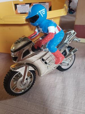 Captain America on motorcycle for Sale in San Antonio, TX