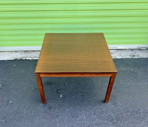 Midcentury Modern - Vintage Norwegian Rosewood Coffee or Side Table - by Heggen - Made in Norway for Sale in North Miami Beach, FL
