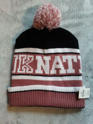 PINK winter hat - brand new with tags for Sale in Taunton, MA