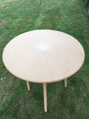 """Round press board table 30"""" round top 30"""" tall for Sale in Edmonds, WA"""