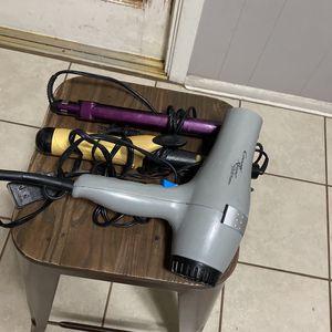 curling iron, hair straightener, blow dryer for Sale in San Antonio, TX