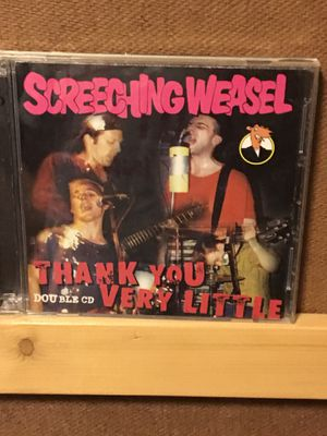 Screeching Weasel Double CD punk not LP vinyl record album for Sale in Austin, TX