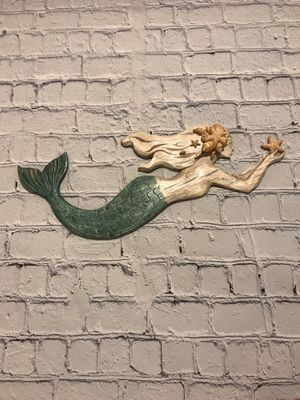 3D rustic Mermaid wall decor for Sale in Naperville, IL