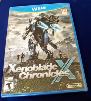 NINTENDO Wii U XENOBLADE CHRONICLES BRAND NEW SEALED for Sale in Escondido, CA