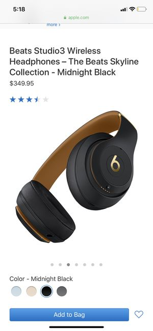 Beats Studio 3 Wireless for Sale in Saint Paul, MN