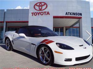 2013 white Chevy Corvette for Sale in DeSoto, TX