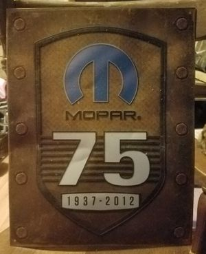 Mopar tin wall sign for Sale in Harrisonburg, VA