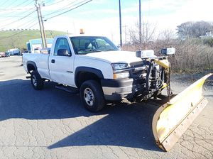 2004 Chevy Silverado HD 2500 4x4 come with 8-foot plow tailgate runs and drives great for Sale in Woburn, MA