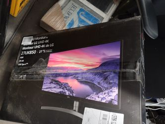 Lg 27* 4k gaming monitor for Sale in Chicago,  IL