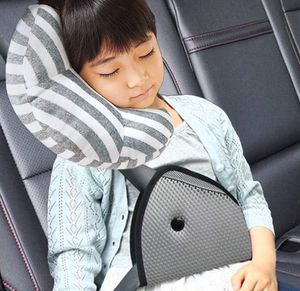 DODYMPS Car Seat Travel Pillow Neck Support Cushion Pad and Seatbelt Adjuster for Kids, Safety Belt Sleeping Pillow and Adjuster for Cars, Safety Str for Sale in Lancaster, CA