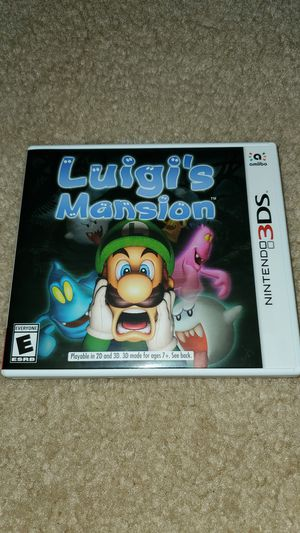 Luigi's Mansion (3DS) for Sale in Indian Trail, NC