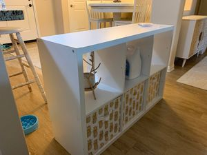 White cubby storage shelves for Sale in Corona, CA