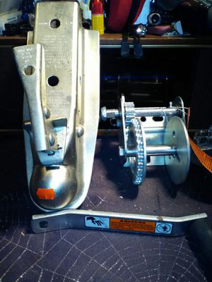Dutton Lainson winch and hitch NEW for Sale in Melbourne, FL