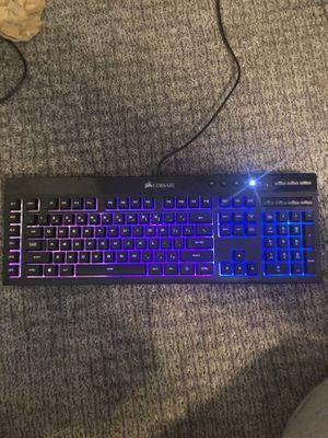 Corsair k55 rgb gaming keyboard for Sale in Virginia Beach, VA